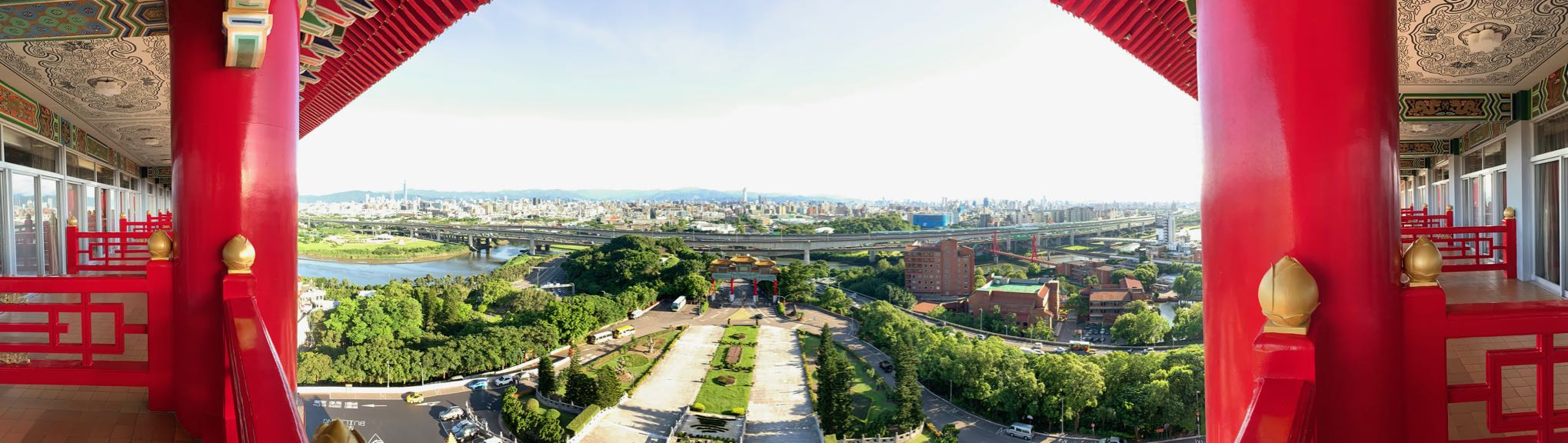 Taipei from the grand hotel